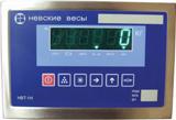 Управление врезных платформенных весов.