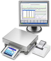Электронные весы для лабораторий.